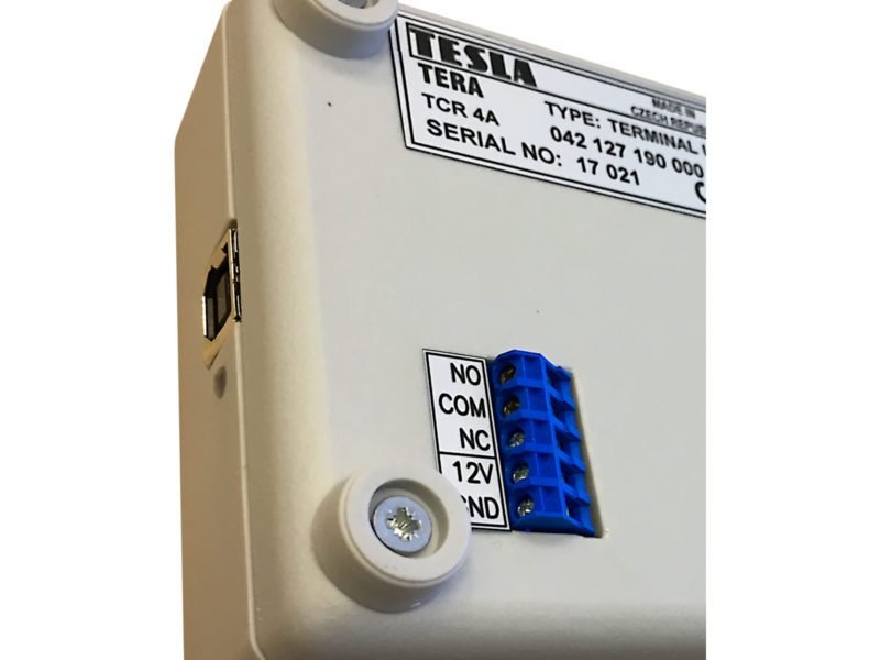 TCR4A connector