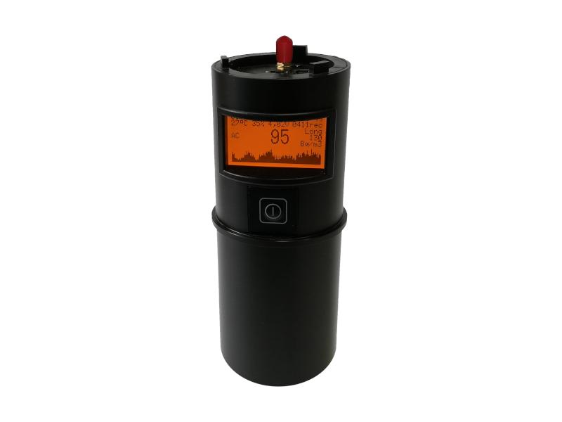 USB radonová sonda s velkou pamětí TSR3DM verze s displejem