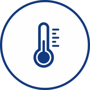 Thermometer TETHP for temperature monitoring icon