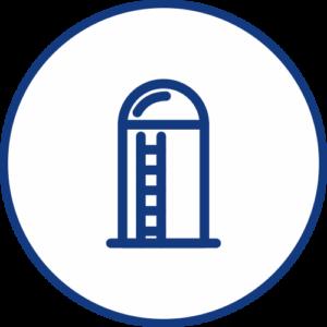 Zaplněnost zásobníků ikona