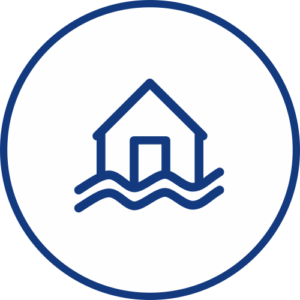 Únik vody ikona