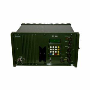 Taktická radioreléová stanice RR 300 menu