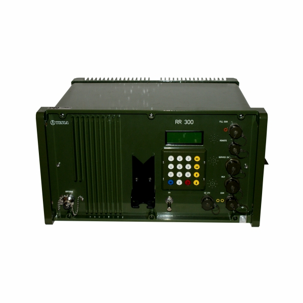 Tactical radio relay station RR 300/RR 1600 menu