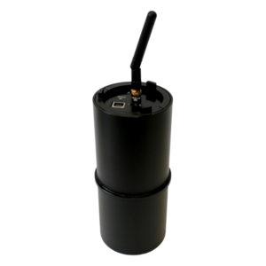 SIGFOX bezdrátová radonová sonda TSR4S menu