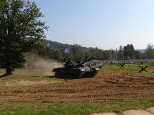 TESLA podporuje Tankový den Lešany foto 3