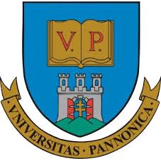 Univerzity of Pannonia Maďarsko logo