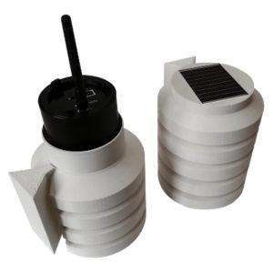 Radiační štít pro radonovou sondu