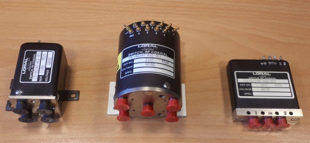 Vysokofrekvenční přepínače / High frequency switches