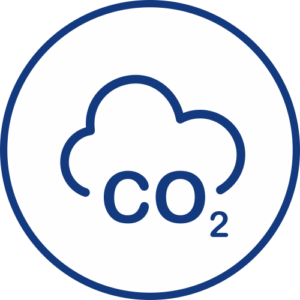 CO2 metering icon