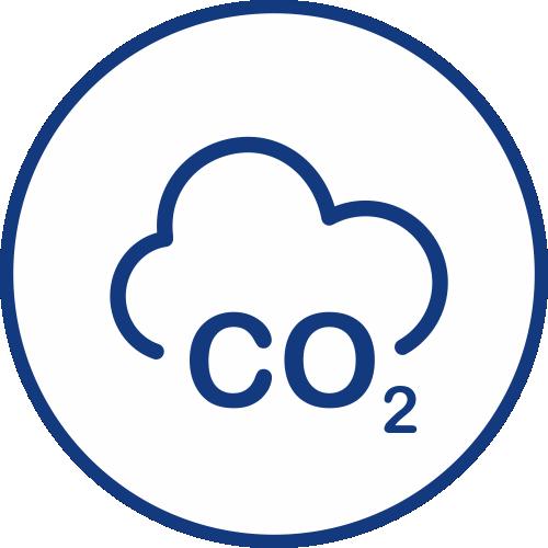 Měření CO2 ikona