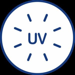 UV radiation icon