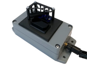 Distance meter TEDIS with wiper for containers fullnes monitoring